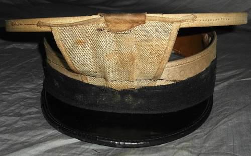 3 U.S. Navy Officer visor caps from yard sale, need help identifying
