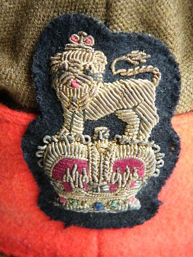 Staff officers SD cap