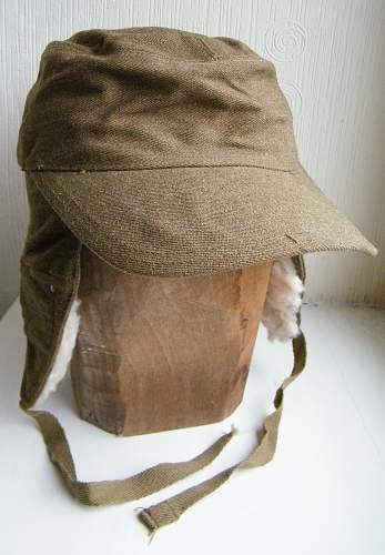 Extreme cold weather cap 1943