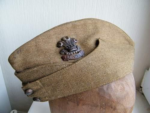 The Welch regiment FS cap 1940