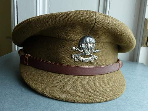 Click image for larger version.  Name:17th 21st lancers cap.jpg Views:1426 Size:167.9 KB ID:446220