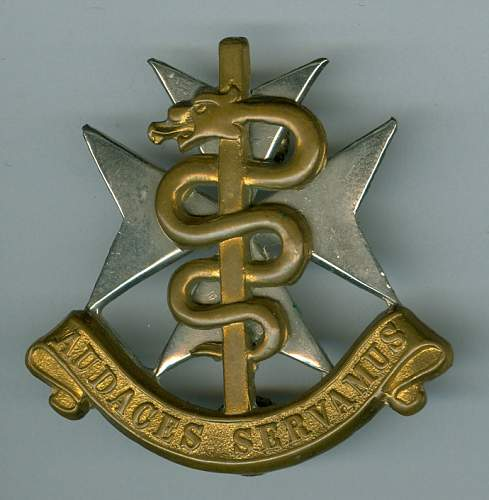 Border War South African Scottish Glengarry Cap Medical