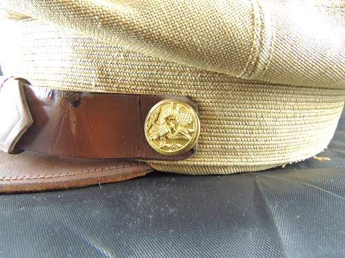 US Lightweight Summer Officers Cap