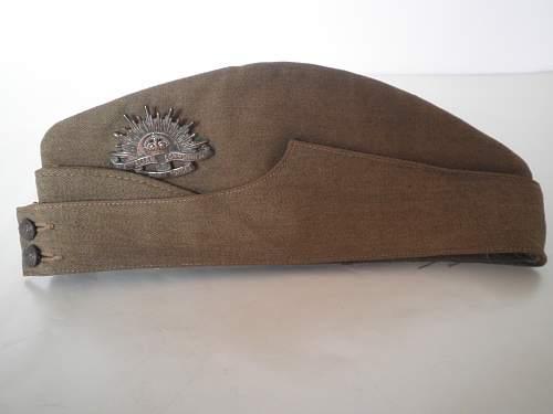 "''Economy"" British sidecap with Australian insignia"