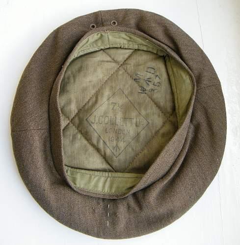 General Service cap