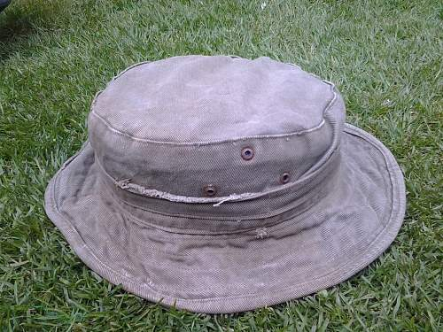 Picked up this jungle green bush hat today, is it Australian