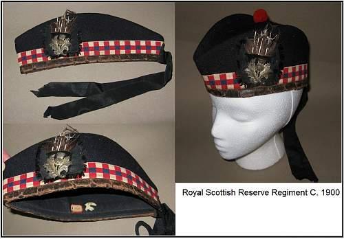 Click image for larger version.  Name:Royal scottish reserve regiment glengarry c 1900.jpg Views:1551 Size:117.1 KB ID:511605