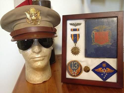 USAAF Officer's Tropical Visor for Review!
