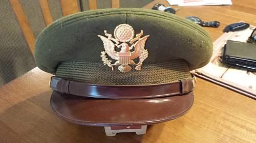 USAAF Olive Officer's Visor