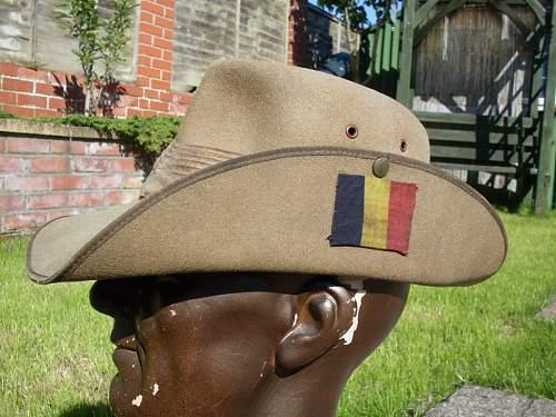 WW2 British Slouch hat?