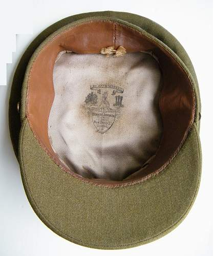 South Wales Borderers Officers SD cap