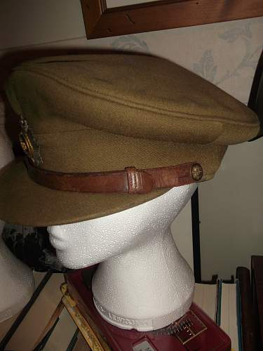 Post War Royal Army Transport Corps Officer's Cap