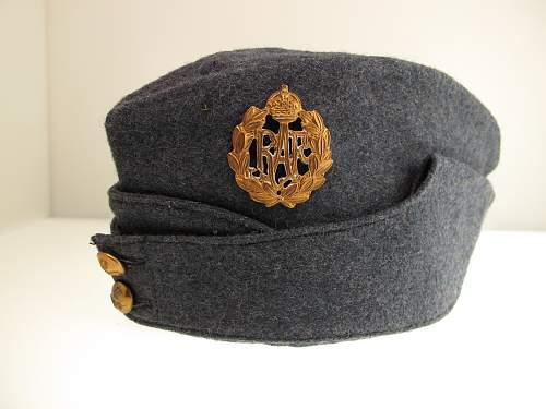 Help with RAF side cap