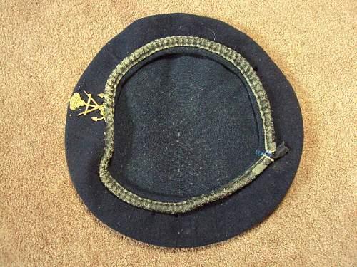 Royal navy cap ???