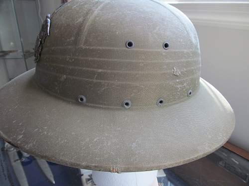 Usn pith helmet