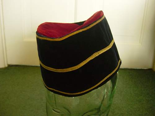Click image for larger version.  Name:Malay Pattern REME Officers cap.jpg Views:290 Size:145.1 KB ID:58822
