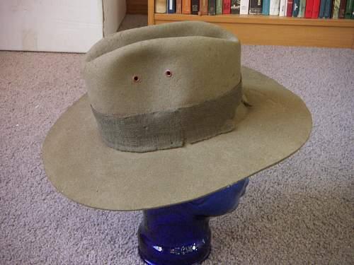 Aussie WW2 Slouch Hats