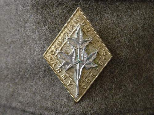 Click image for larger version.  Name:CWAC Cap badge.jpg Views:729 Size:257.1 KB ID:58845