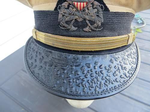 US Army transport cap