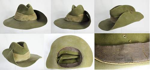 Click image for larger version.  Name:Aussie slouch hat 1943 montage.jpg Views:2983 Size:208.6 KB ID:599550