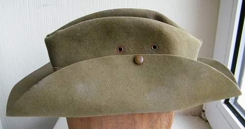 Aussie slouch hat 1943