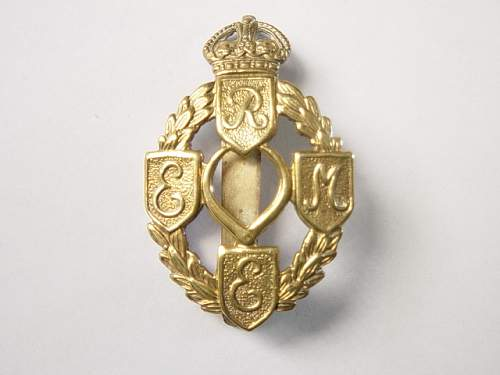 Click image for larger version.  Name:REME Cap badge..jpg Views:1083 Size:135.7 KB ID:60646