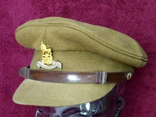 Royal Art'y & other Service Dress caps