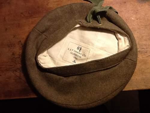 2 British beret's
