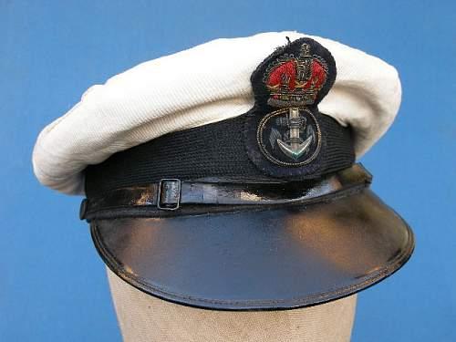 Royal navy visor for review