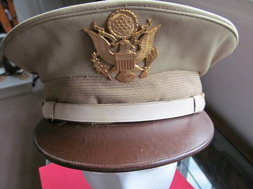 Ww 11  United States Military Police visor