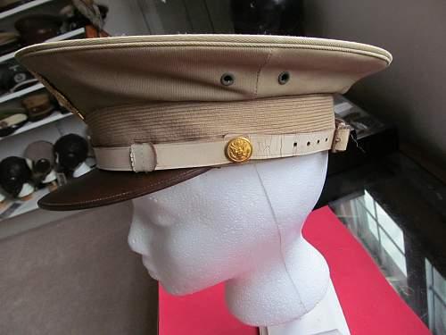 Ww 11  United States Military Police visor