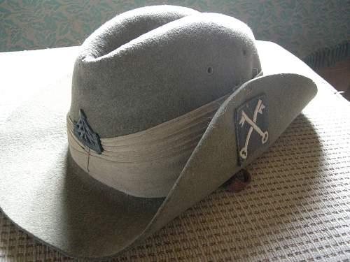 WW2 British Slouch / Bush hats