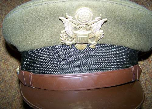 "Air Corps cadet ""flighter"" cap by Bancroft"