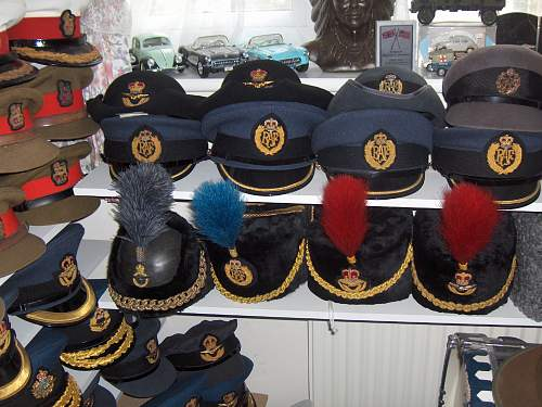 RAF Officers cap/ WW2?