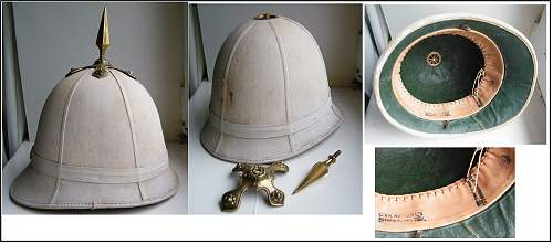British & Commonwealth sun helmets
