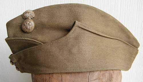 Canadian FS cap with RWF badge