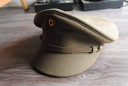 Belgian wartime officers cap?