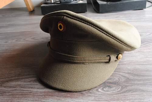 Belgian wartime officers cap?