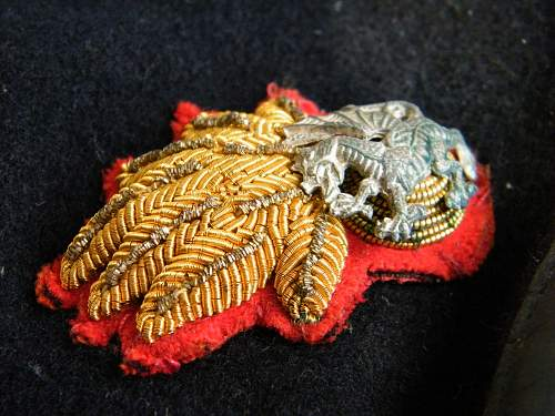 Click image for larger version.  Name:RWF officers beret 4 badge detail b.jpg Views:55 Size:226.9 KB ID:728343