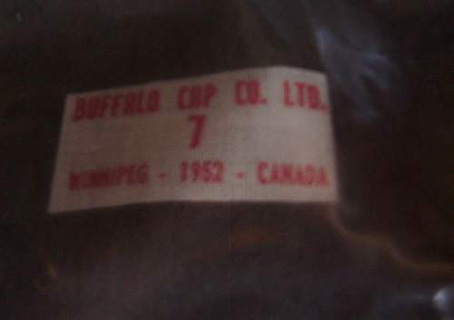 Post WW2 Canadian women's army corps cap ?