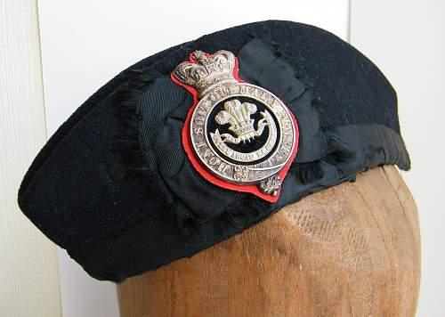 Click image for larger version.  Name:Welsh regiment VB officers glengarry 1881 to 1896 a.jpg Views:296 Size:223.5 KB ID:737735