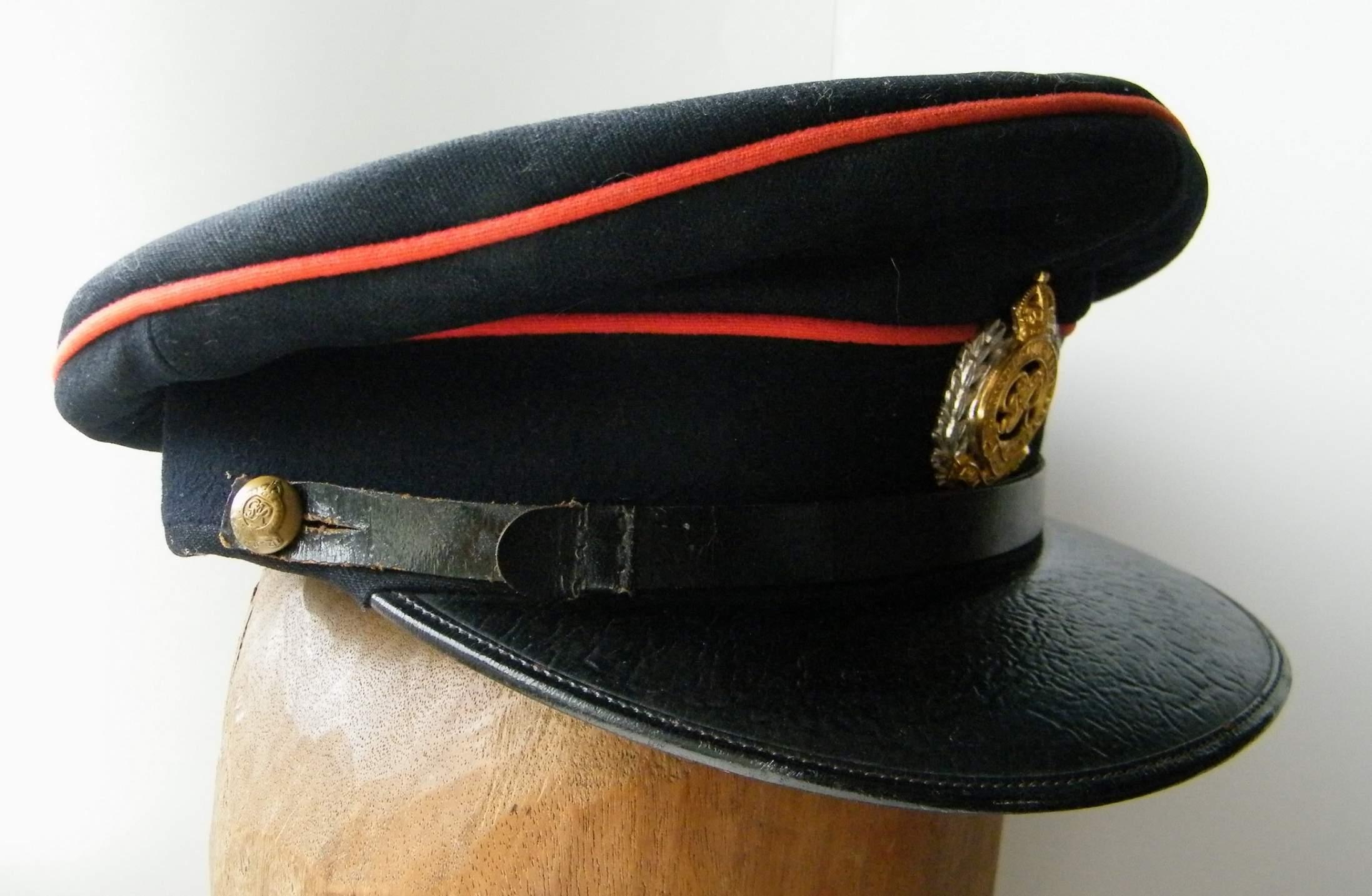 Royal engineers officers forage cap GVI 33c90312be3