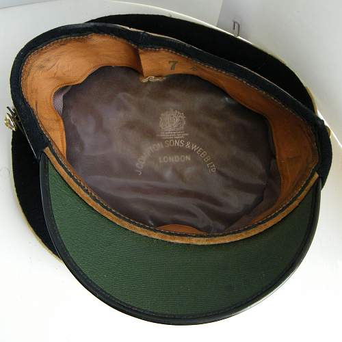 Royal Corps of Transport OR's forage cap