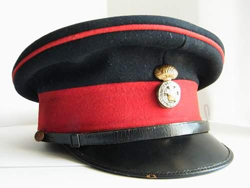 other ranks forage cap circa 1930's