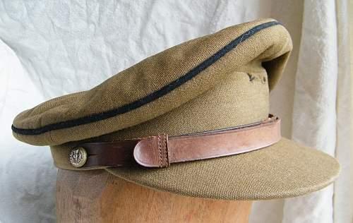 Royal Scots Greys officers SD cap
