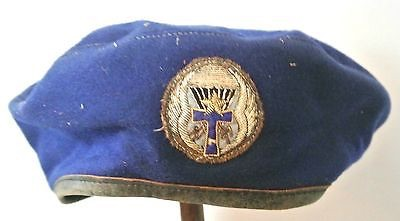 Any ideas on this beret. Said to be French?