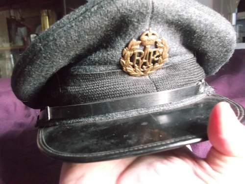 RAF Cap, Unsure of Date