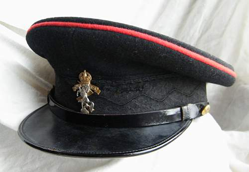 Click image for larger version.  Name:REME junior officer forage cap 1.jpg Views:190 Size:203.9 KB ID:768671