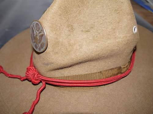 WW1 Doughboy Overseas Side Caps - help with patterns