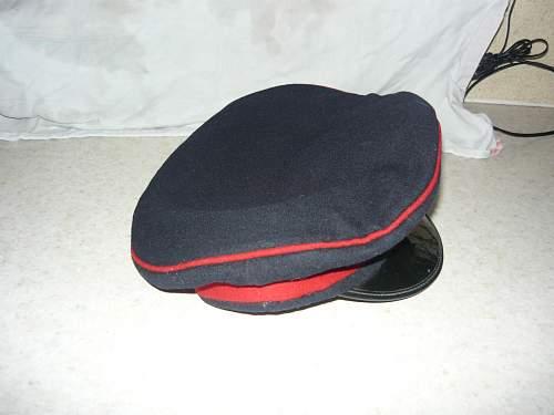 Forage peak cap